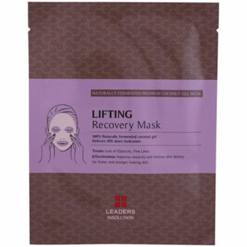 Leaders, Coconut Gel Lifting Recovery Mask, 1 Mask, 30 ml(pack of 12)