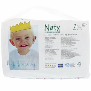 Naty, Diapers, Size 2, 6-13 lbs (3-6 kg), 34 Diapers(pack of 6)