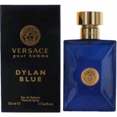 3 Pack - Dylan Blue By Versace Eau De Toilette Spray 1.7 oz