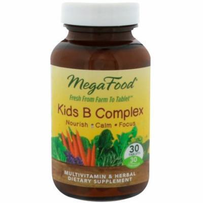 MegaFood, Kids B Complex, 30 Tablets(pack of 4)
