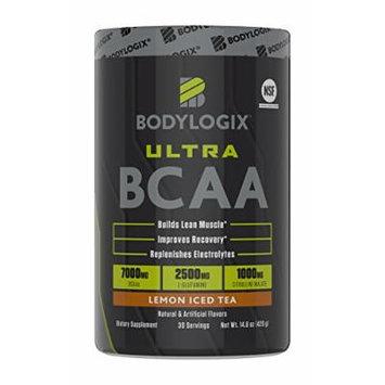 Bodylogix Ultra BCAA Powder, Ice Tea, 14.8 Ounce