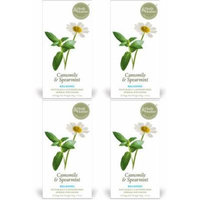 (4 PACK) - Heath And Heather - Camomile Spearmint Tea | 20 Bag | 4 PACK BUNDLE
