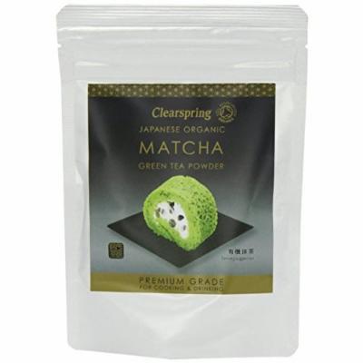 (2 Pack) - Clearspring - Org Matcha Green tea Premium | 40g | 2 PACK BUNDLE