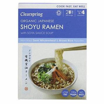 (4 PACK) - Clearspring Japanese Shoyu Ramen Noodles & Soya Sauce Soup| 170 g |4 PACK - SUPER SAVER - SAVE MONEY