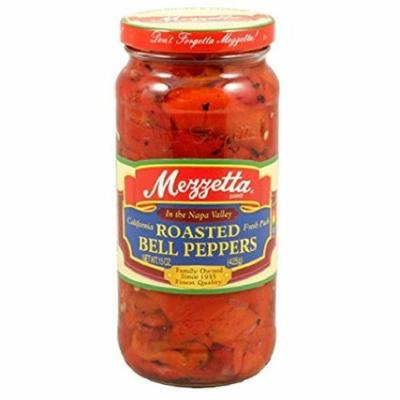 Mezzetta Peppers,Roasted Red Bell 10 Oz (Pack Of 12)