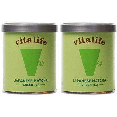 (2 Pack) - Vitalife - Organic Matcha Green Tea | 30g | 2 PACK BUNDLE
