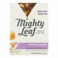 Mighty Leaf Tea Black Tea - Orange Dulce - Case of 6 - 15 Bags