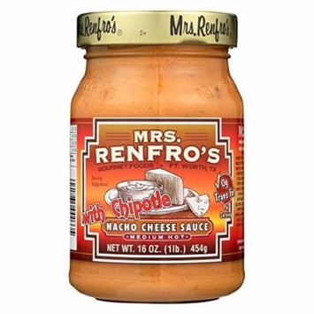 Mrs. Renfro's Cheese Sauce and Dip - Case of 6 - 16 oz.