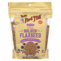 BOB'S RED MILL, Flaxseeds, Golden, Pack of 6, Size 13 OZ, (Gluten Free Kosher)