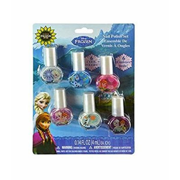 Frozen Fever Nail Polish Set With 6 Cool Colors