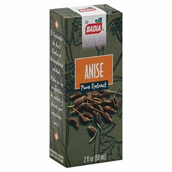 Badia Spices Anise Extract - Case of 12 - 2 Fl oz.