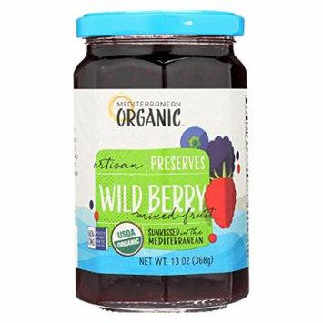 Mediterranean Organic Preserves - Wild Berry - Case of 12 - 13 oz.