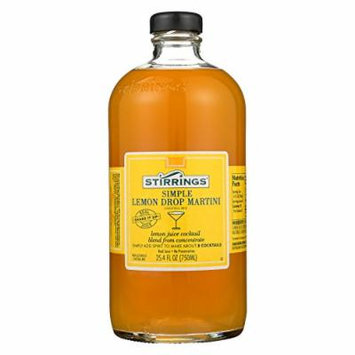 Stirrings Cocktail Mixer - Lemon Drop - Case of 6 - 750 ml