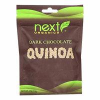 Next Organics Organic Dark Chocolate - Quinoa - Case of 6 - 4 oz