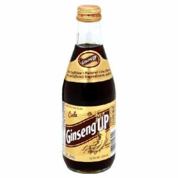 Ginseng up Cola Soda, 12oz (Pack of 24)