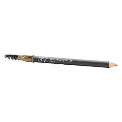 No7 Beautiful Long Lasting Eyebrow Pencil Featuring Its Creamy Formula Goes on Smoothly to Fill In, Shape and Define Brows (No7 Beautiful Brows Pencil - Blonde)