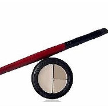 Smashbox Mini Set/kit Brow Tech in Taupe/soft Brown (.009 Oz) + Travel Angle Brow Brush