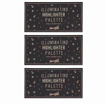 Barry M X 3 Illuminating Highlighter Palette