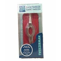 Tweezerman Easetweeze Slant Tweezer (Silver)