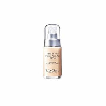 T. LeClerc Anti Ageing Fluid Foundation SPF 20 (Bottle) - # 04 Beige Abricot Satine - 30ml/1oz