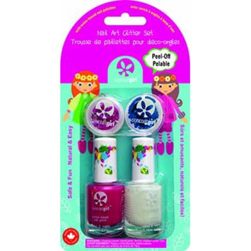 Suncoat Products inc Nail Art Glitter Set, Glamgirl 2 ml