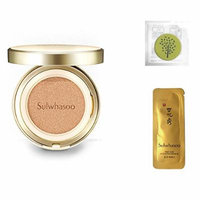 2017 New Sulwhasoo Perfecting Cushion EX (No.15 Ivory Pink) 0.53oz(15g)+Refill 0.53oz(15g)