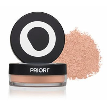 Priori Minerals fx Broad Spectrum 25, All-Natural Powder Foundation, Skin Protection, Correction, Perfection, sunscreen protection SPF25, Loose Makeup Minerals, Suits Sensitive Skin, 5 g (Shade 1)