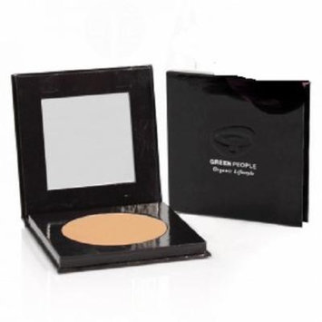 Green People Organic Make-Up - Pressed Powder - Caramel Medium - 10g by Green People