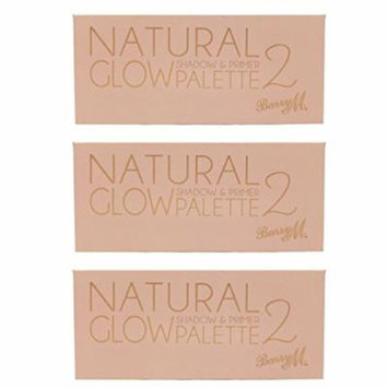 Barry M X 3 Natural Glow 2 Shadow & Primer Palette