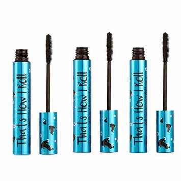 Barry M X 3 That's How I Roll Waterproof Mascara Black