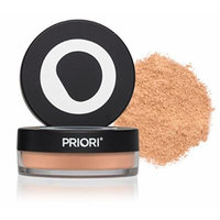 Priori Minerals fx Broad Spectrum 25, All-Natural Powder Foundation, Skin Protection, Correction, Perfection, sunscreen protection SPF25, Loose Makeup Minerals, Suits Sensitive Skin, 5 g (Shade 2)