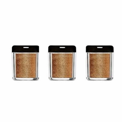 Barry M X 3 Glitter Rush Body Glitter Desert Bronze