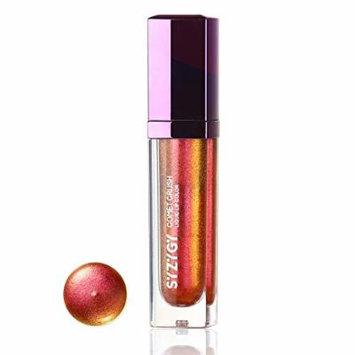 SYZYGY Liquid Lipstick, Duochrome Holographic Long Lasting Metallic Lip Color, Iridescent Glitter Lip Gloss, Halo Clusters