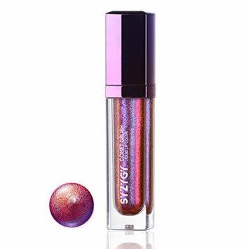 SYZYGY Liquid Lipstick, Duochrome Holographic Long Lasting Metallic Lip Color, Iridescent Glitter Lip Gloss, Phantom Assassin