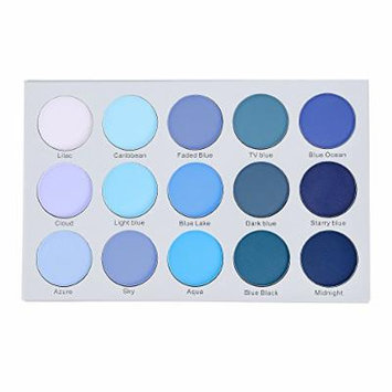 Kara Beauty ES22 15 COLOR SMOKY BLUE EYESHADOW