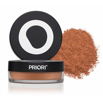 Priori Minerals fx Broad Spectrum 25, All-Natural Powder Foundation, Skin Protection, Correction, Perfection, sunscreen protection SPF25, Loose Makeup Minerals, Suits Sensitive Skin, 5 g (Shade 5)