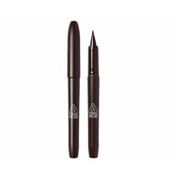 3CE 3 Concept Eyes Easy Pen Eye Liner Black Brown (Brown)