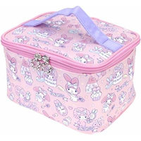 My Melody Makeup Train Case Cosmetic Bag Holder Travel Organizer Water-resistant Portable