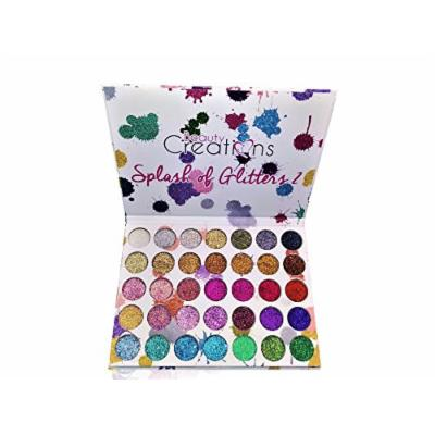 Beauty Creations Cosmetics Splash Of Glitters Palette #2