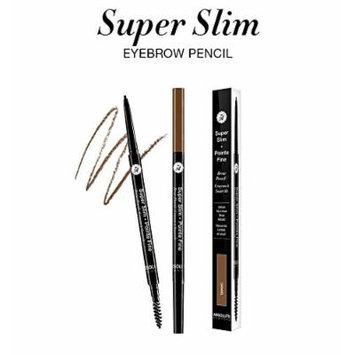 (PACK OF 3) ABSOLUTE NEW YORK Super Slim Brow Pencil - SSEB02 ESPRESSO [e]