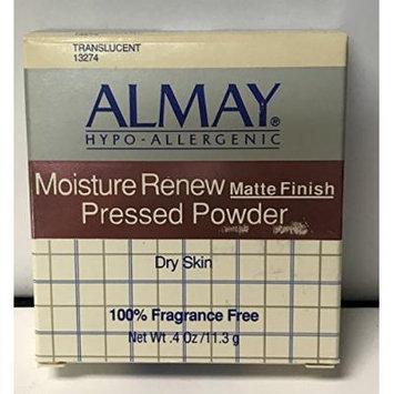 Almay Moisture Renew Matte Finish Pressed Powder Dry Skin (Translucent #13274)
