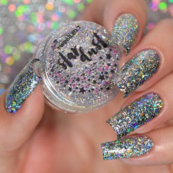 Twinkled T Holographic Flakes for Nail Art (Star Dust)