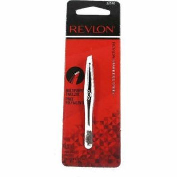 Revlon Slant Tip Tweezer 1 ea (Pack of 6)
