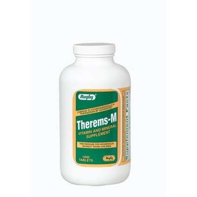Therems - M Mineral Supplement Tablets - 1000 Tablets