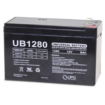 Universal - UB1280 12V 8AH Sealed Lead Acid Battery F1 .187 TT