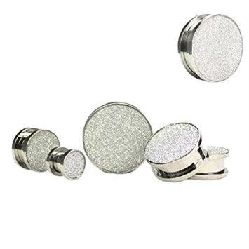 DZT1968 Women 6/8/10mm Stainless Steel Cheater Gauge Ear Plug Expander Earring