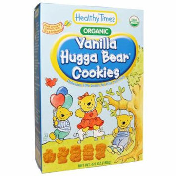 Healthy Times, Organic, Hugga Bear Cookies, Vanilla, 6.5 oz (pack of 3)