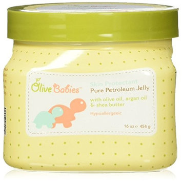Olive Babies Skin Protectant Petroleum Jelly, 16 Ounce