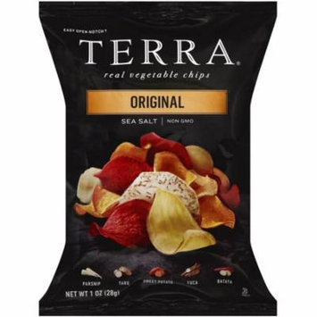3 Pack - Terra Real Vegetable Chips, 1 oz bags, Original with Sea Salt 24 ea