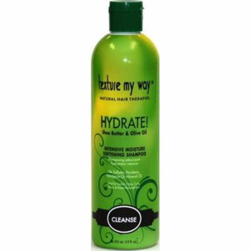 4 Pack - Texture My Way Cleanse Hydrate Shampoo 12 oz